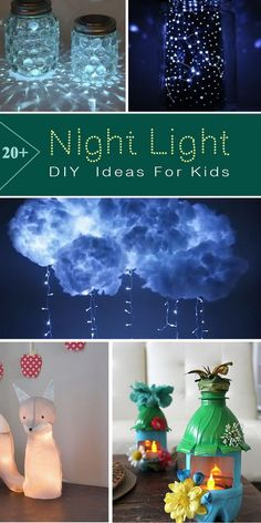 20  DIY Night Light Ideas For Kids