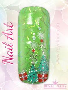 Christmas - Weihnachten Nail Art Design Inspiration Nr. 272 #christmas #weihnachten #santa-claus #nail-art #nailart #winter-holidays