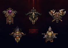Diablo III 五大职业图标 [ICON]