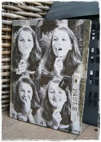 Veridiana Fromm: Leinwand Foto Transfer