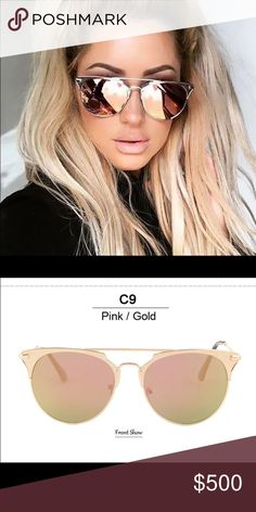 COMING SOON Rosegold pink gold mirrored sunglasses Ships immediately! Brand new gorgeous sunnies Accessories Sunglasses