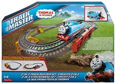 Over 35 pieces of track to expand your TrackMaster world Build a variety of unique layouts, or connect to existing TrackMaster train sets and expansion packs (sold separately) Included track switches allow you to change the direction of your motorized TrackMaster trains (trains sold separately)...   toys4mykids.com