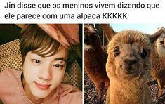 Bts Memes, Vkook Memes, Bts Meme Faces, Funny Faces, Bts Jin, Bts Bangtan Boy, K Pop, Seokjin, Namjoon