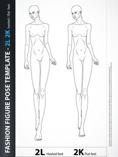 Fashion Design Drawing - Catwalk