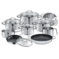Silit Achat 14 Piece Stainless Steel Cookware Set [$169.99]