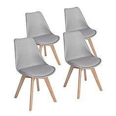 Chaise scandinave blanche et pieds en métal Vendue par lot de 2