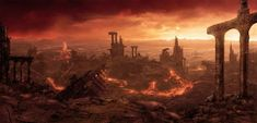 #wattpad #fanfic issei hyodo al terminar la batalla contra el triexa lo ascendieron al clase suprema por sus logros en la guerra .pero después se entero de cierto traición de parte de su harem i para rematar las facciones de los diablos .ángeles y  ángeles caído  sabían de esa traición  pero no quisieron decir nada... Amaterasu, Fantasy Landscape, Fantasy Art, Dark Fantasy, Science Fiction, Post Apocalyptic Fiction, Burning City, Dragon Age, Background Images