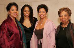 Three Generations: Phylicia Rashad, Vivian Nixon, Debbie Allen, Vivian Ayers-Allen