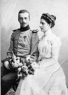 Robert of Württemberg (1873 – 1947) and his wife Archduchess Maria Immakulata of Austria-Tuscany (1878-1968)