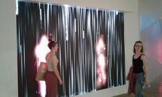 Interactive display at 3M exhibition in triennale museum