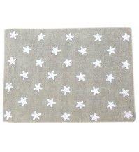 Op zoek naar een Vloerkleed grijs met witte sterren120x160? Bij Saartje Prum vind je de leukste Katoenen vloerkleden voor de kinderkamer.
