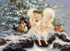 12 ангелов.Художница Dona Gelsinger.. Обсуждение на LiveInternet - Российский Сервис Онлайн-Дневников