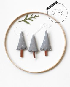 DIY cinnamon tree ornament
