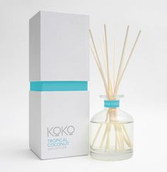 KOKO REED DIFFUSER TROPICAL COCONUT | Homewares Online
