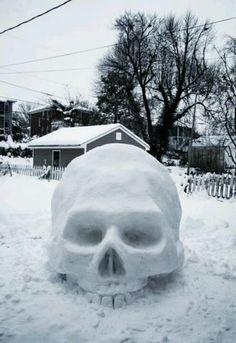Crâne de neige