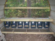 Plastic nest boxes.  Great Idea!  The Nancy Creek Coop - Irf1983's Chicken Coop - BackYard Chickens Community