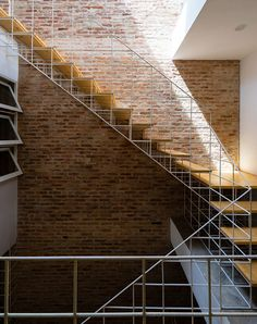 a thin white grid installed by block architects vietnam has been used for greenery, partitioning and the staircase connecting the multi-levels.