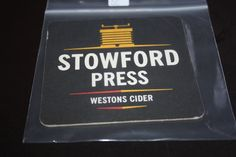 2011 Beermat Westons Cider Cyder Cat 055 (2G35 (10/14) Stowford Press