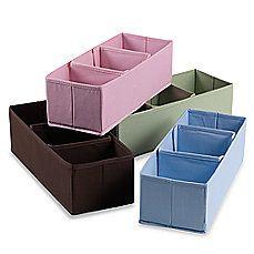 3-Section Nursery Organizer