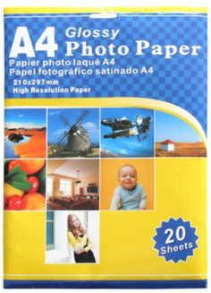 A4 Glossy Photo Paper Case Pack 8