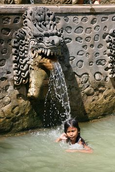 Hot spring in Banjar, North Bali, close to the villa