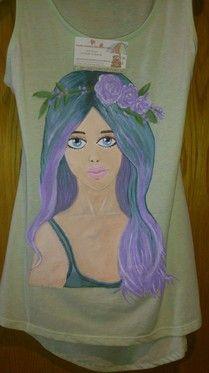 Camisetas pintadaa mano- personalizada - colorincolorado