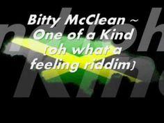 Bitty McClean ~ One of a Kind