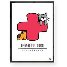 Quadro decorativo de profissões Veterinária Compre já para o seu consultório: www.fofys.com.br  #quadro #decoracao #veterinaria #bicho #bichinho #gatinho #gato #cachorro #cao #consultorio #veterinario