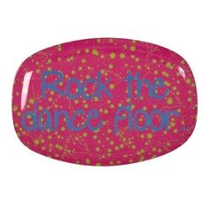 Awesome Rock the Dance Floor tray