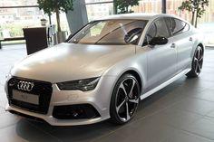 Audi Exclusive RS 7 Sportback in Florett Silver Matte