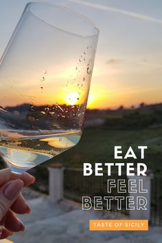 Taste of Sicily. Eat better feel better. Sicily has a great range of great food and wines. Perfect for a foodie tour.