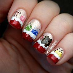 christmas by kimiko7878 #nail #nails #nailart
