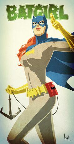 Cool Series of DC Comics Female Superhero Character Art - News - GeekTyrant (Batgirl) Female Superhero, Superhero Characters, Comic Book Characters, Comic Character, Comic Books Art, Comic Art, Marvel Comics, Hq Marvel, Batman And Batgirl