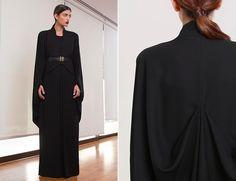 Stylish, Modern Abayas: Bouguessa   Style.com/Arabia