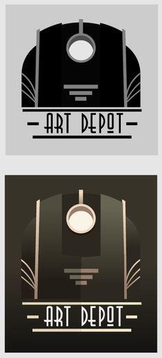 cArDeco by Doychin Doychev in Showcase of Art Deco Typography