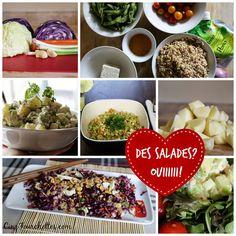 Cinq Fourchettes etc.: 5 salades pour se déculpabiliser... juste un peu!