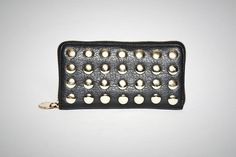 Gold Studded Clutch Wallet