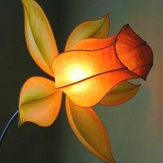 Extraordinary handmade paper lighting from HiiH in Portland.