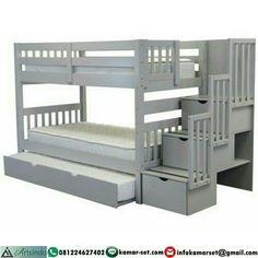 "Tempat Tidur Anak Tingkat Warna Grey ➖➖➖➖➖➖➖➖ ➡ Info Pemesanan melalui : 📱 BBM : 5CA7DED8 📞 CALL :…"""