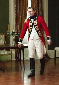Ladies, may I introduce JJ Feild as Major John Andre in AMC's Turn.  Worth your worthy attention.