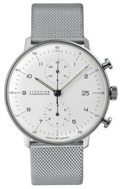 Max Bill - Junghams Consider this Simple gorgeous watch a must have