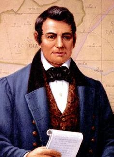 John Ross.  My great, great, great grandfather.  Chief of the Cherokee Nation.