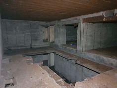 Atlantikwall Regelbau Bertha - Commando Bunker for Luftwaffe Night Fighter From World War 2 Bunker Home, Secret Bunker, Bunker Hill Monument, Doomsday Bunker, Doomsday Preppers, Bomb Shelter, Underground Bunker, Nuclear War, Places In Europe