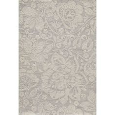 With a floral design inspired by nature, this Palma rug brings warm and a simple elegance to any decor. Hand-Tufted of space dyed polyester that enhances the depth of color and creates an appealing abrash effect.