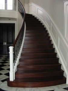 Moulding On Staircase Wall