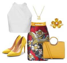 """""""Untitled #7"""" by ritecz-gabriella on Polyvore featuring Dsquared2, Rupert Sanderson, David Tutera, Jane Basch and Nine to Five"""