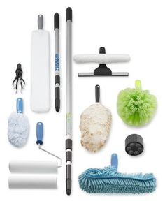 Extendable Pole Cleaning Systems #williamssonoma
