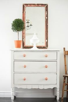 Tiffany Blue antiqued dresser for my daughters bedroom