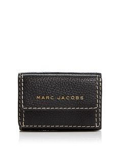 a26aac9acf91 MARC JACOBS Mini Leather Trifold Wallet Handbags - Bloomingdale s