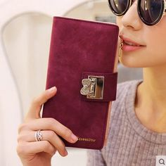 Frosted Diamond Long Wallet //Price: $18.56 & FREE Shipping // #handbag #awesome #bagsdesigns